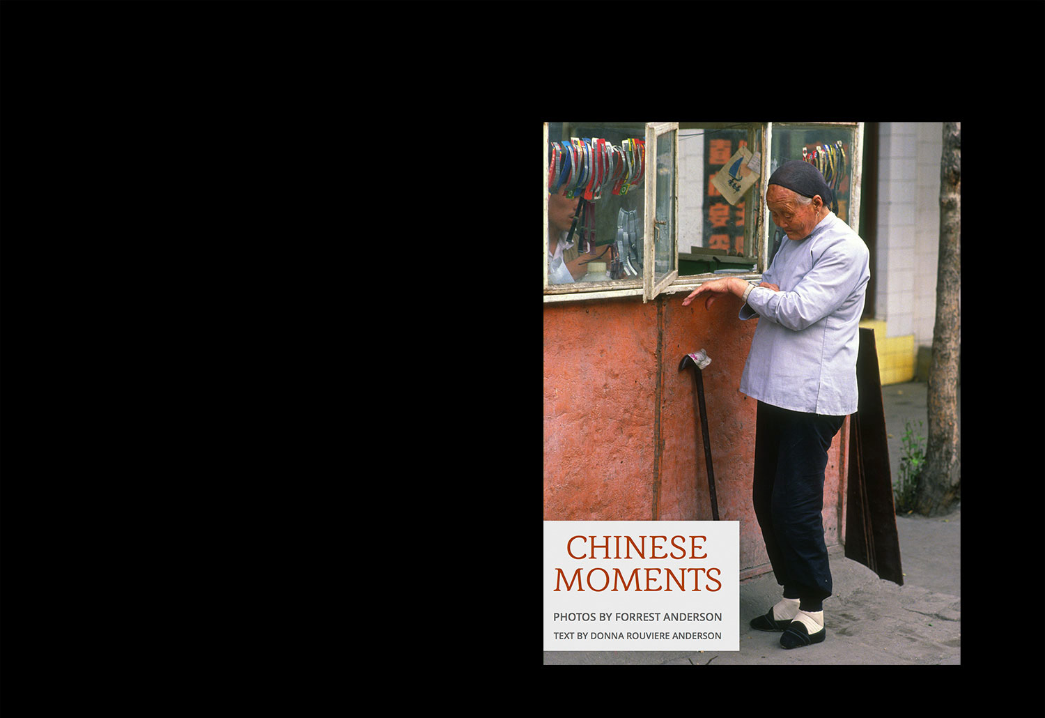 Chinese <br /> Moments<br /> photo book<br /> published
