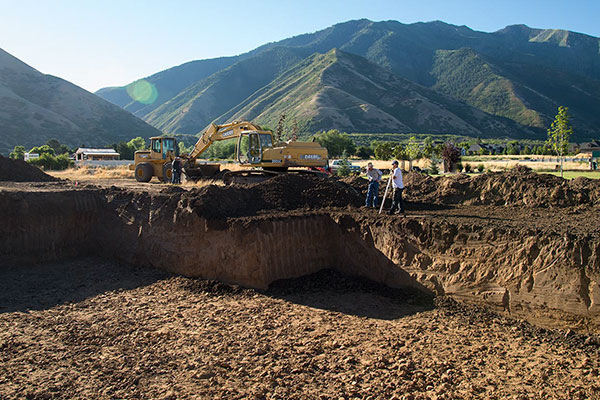 Excavation of The Thoughtful House