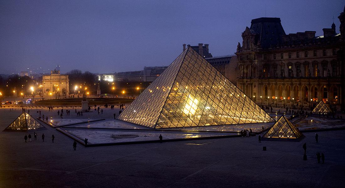 The Louvre, Paris, France.