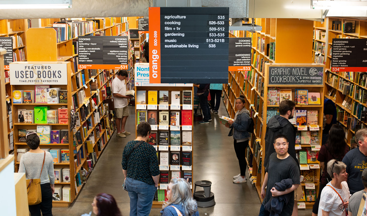 Bookstore You Want to Move Into