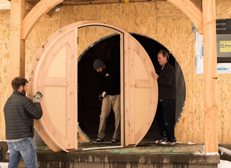 The Round Door Arrives