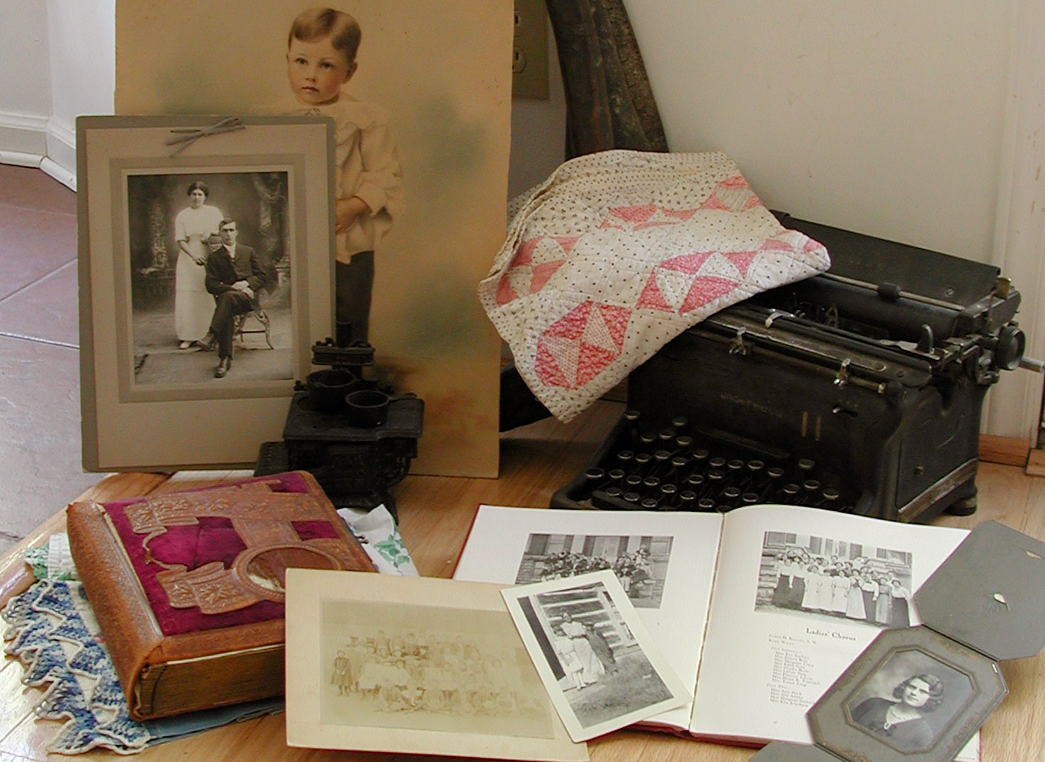 Organizing Family Heirlooms
