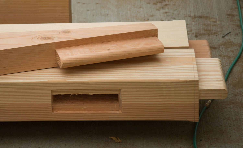 Mortise-and-Tenon Timbers
