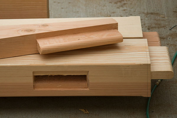 Mortise-and-Tenon Timbers