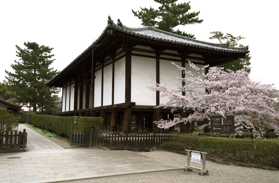 Horyuji treasure house