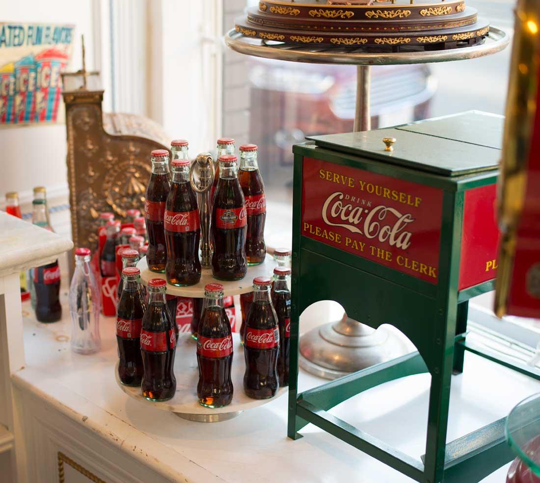 Coca-Cola bottles