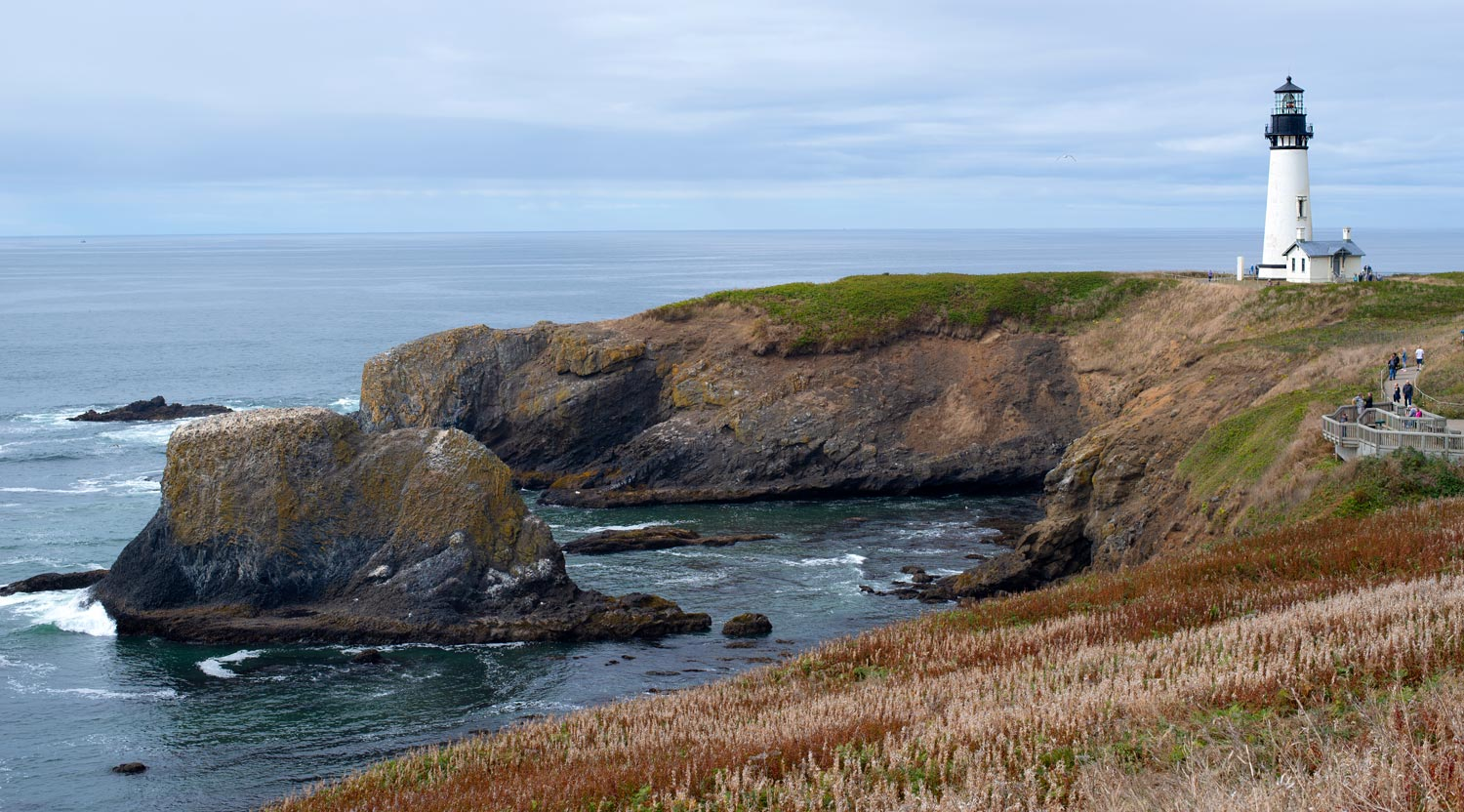 A Lighthouse, Tide Pools and Seals