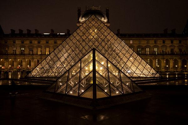 Take a Break at the Louvre