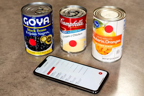 An Inventory App and Sticker Dots Help Track Supplies