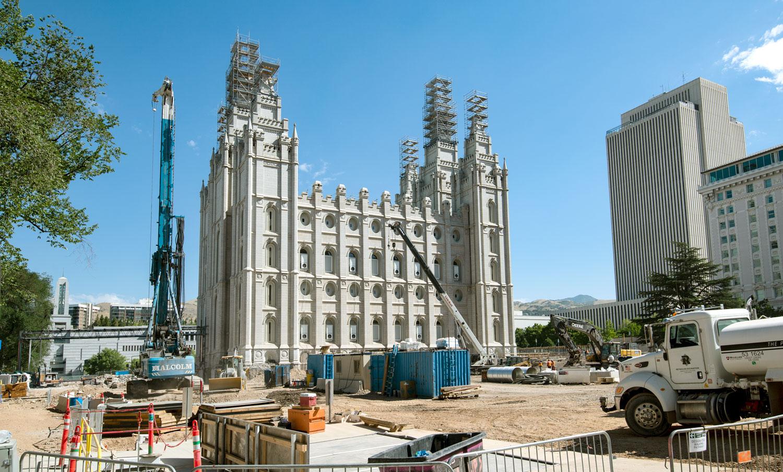 Renovating a Western Landmark