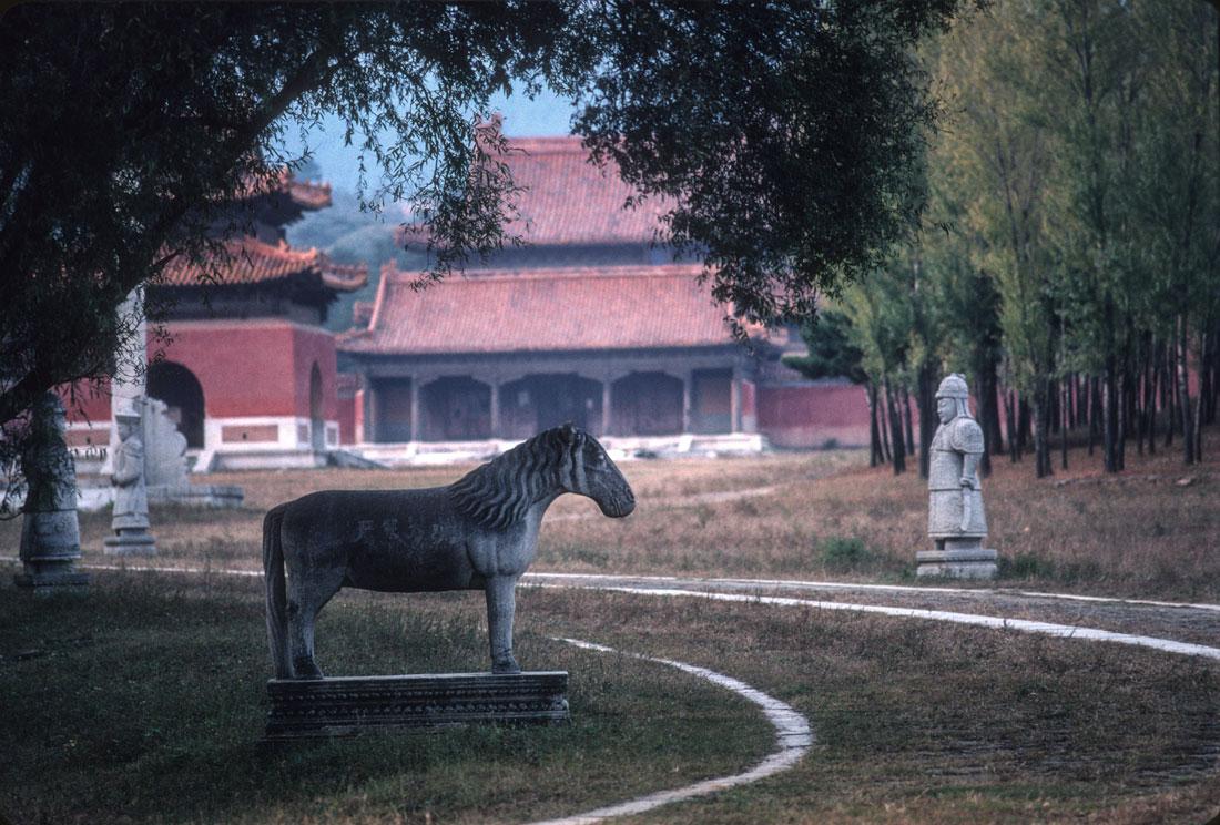 The Qing Tombs near Beijing, China.